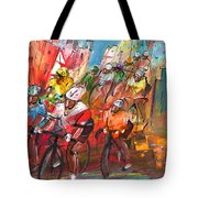 Le Tour De France Madness 04 Tote Bag