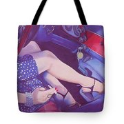 Lead Foot Tote Bag
