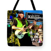 Lead Guitarist Jimmy Dence - The Fabulous Kingpins Tote Bag