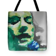 Lead Singer Of The  R E M  Band Tote Bag
