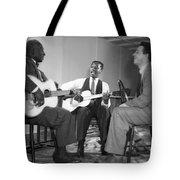 Leadbelly, Josh White, Nicholas Ray Tote Bag