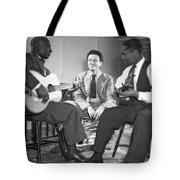 Leadbelly, Nicholas Ray, Josh White Tote Bag