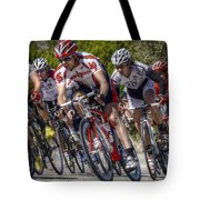 Leading The Race Tote Bag