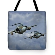 'leads The Field' Tote Bag