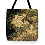 Leaf Abstract Ode To Klimt Tote Bag