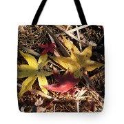 Leaf Collage Tote Bag