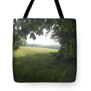 Leaf Cover Tote Bag