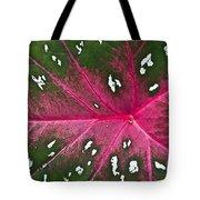 Leaf Detail Tote Bag