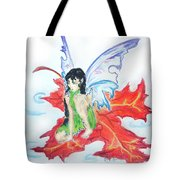Leaf Fairy Tote Bag