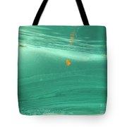 Leaf Floating Underwater Tote Bag