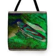 Leaf Hopper Tote Bag