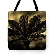 Leaf In A Special Light Tote Bag