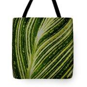 Leaf Lines Tote Bag