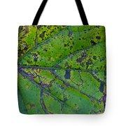 Leaf Macro Tote Bag