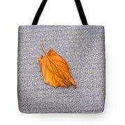 Leaf On Granite 1 Tote Bag