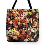Leaf Patterns 3 Tote Bag