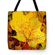 Leaf Portait 1 Tote Bag