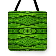 Leaf Structure Abstract Tote Bag