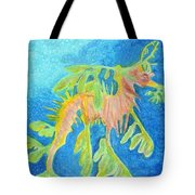 Leafy Seadragon Tote Bag