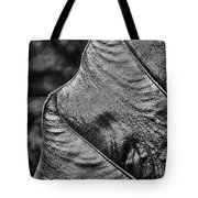 Leafy Texture Tote Bag
