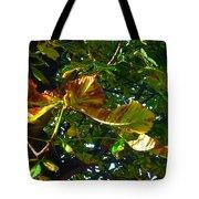 Leafy Tree Image Tote Bag