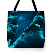 Lean Back Tote Bag by Brian Reaves