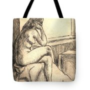 Leaning Into The Day Tote Bag