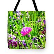 Leaning Into The Sun Tote Bag