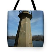 Leaning Lighthouse Tote Bag