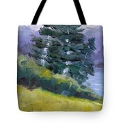 Leaning Pines Tote Bag
