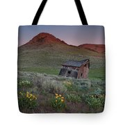 Leaning Shed Tote Bag