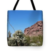 Leaning Towards The Light Tote Bag