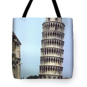 Leaning Tower Tote Bag