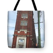 Leaning Tower Of Pilsen. Tote Bag