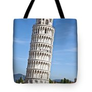 Leaning Tower Of Pisa Tote Bag