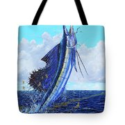 Leap Of Freedom Off0048 Tote Bag