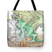 Leaping Dragon Tote Bag