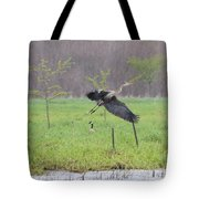 Leaping Flight Tote Bag