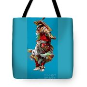 Leaping Into The Air Tote Bag