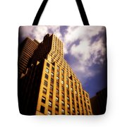 Leaps Tall Buildings With A Single Bound - Skyscraper Tote Bag
