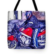 Learn How To Ride Tote Bag