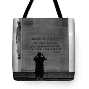 Learning From Lincoln Tote Bag by James Brunker