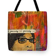 Learning From Yesterday - Journal Art Tote Bag