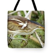 Least Bittern Female Feeding Tote Bag