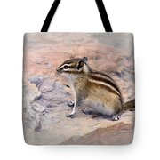 Least Chipmunk #2 Tote Bag