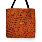 Leather In Love With A Lion Tote Bag