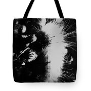 Leather Smirks  Tote Bag