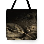 Leather Strap Still Life Tote Bag by Tom Mc Nemar