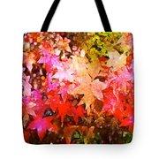 Leaves 11 Tote Bag