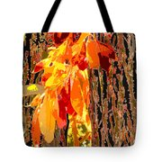 Leaves And Bark Tote Bag